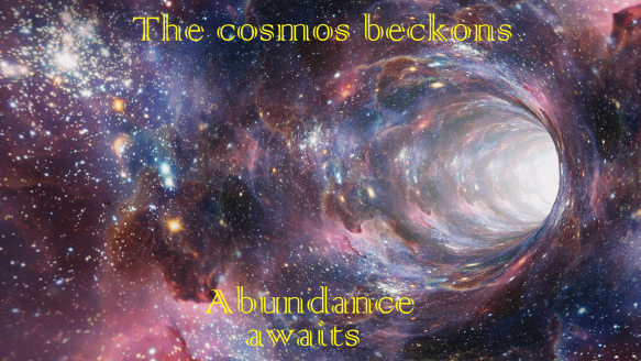 The cosmos beckons