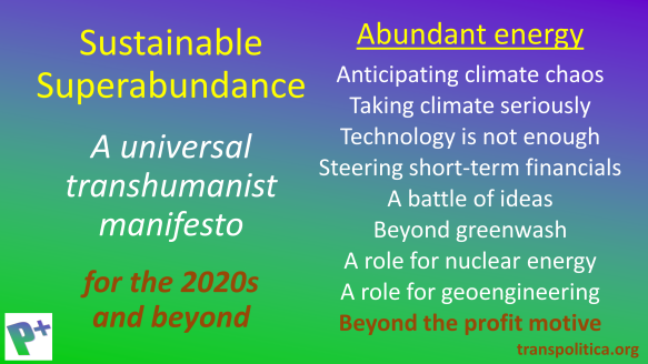 Abundant energy