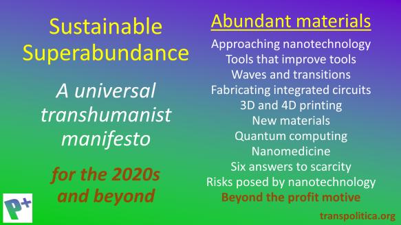 Abundant materials